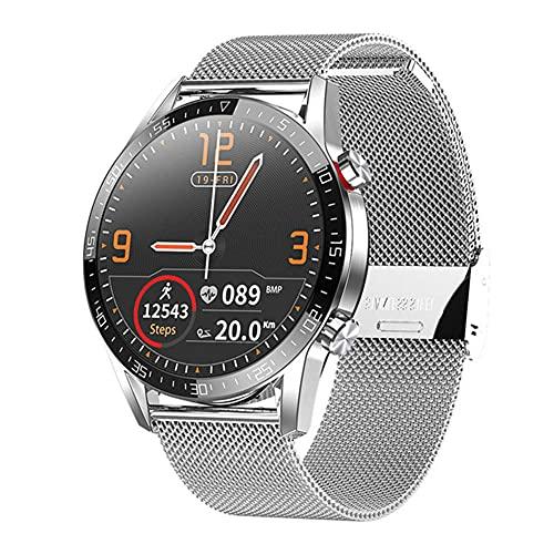 SKSNB IOS Android reloj inteligente hombres s deportes relojes portátiles dispositivos inteligentes soporte recibir llamadas impermeable IP68 fitness reloj-F