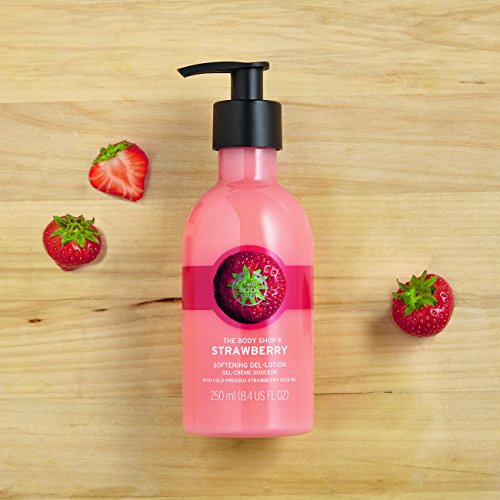 The Body Shop Strawberry softening gel lotion 2