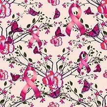 Colon Cancer Fabric Inspirational Words 7117