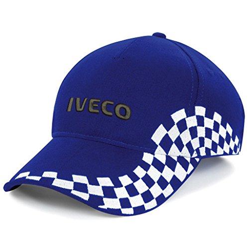 Subla2017 IVECO - Berretto da baseball con logo ricamato, colore: Blu
