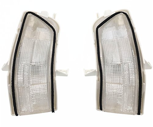 HZTWFC 2pcs lampe de clignotant rétroviseur gauche et droit OEM # 34300-SWA-H01 34350-SWA-H01