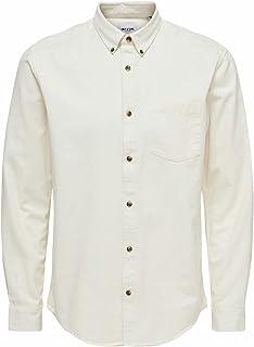 Only & Sons ONSBRYCE LIFE LS REG ORGANIC SHIRT NOOS heren hemd
