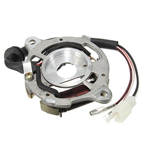 WCHAOEN Stator Zündung Magnetspule Baugruppe Für Yamaha PW50 PW 50 QT50 Ersatzteile