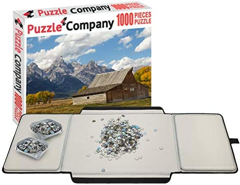 Puzzle Company Puzzle Board 1000 Piece Jigsaw Puzzle Included Large Puzzle Table Fits 1000 Piece product image
