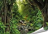 PMP 4life. XXL Poster Tropischer Dschungel | 140x100cm |