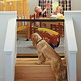 Magic Pet Gate para Perros 48 x 31.5 Pulgadas Malla de Aislamiento...