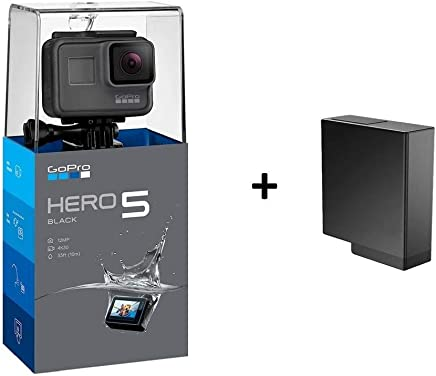 GoPro HERO5 Black Camera Bundle (with Battery)