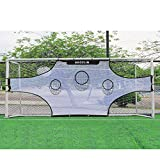 AKOZLIN CP 7 Person Soccer Soccer Field Nets Target Sheets Attach to Your Goal for The Ultimate Accuracy Training Partner