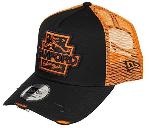 New Era Sanford 9forty Adjustable Cap Distressed Black - One-Size
