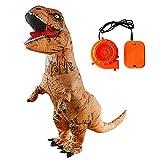 WXGY Jurassic World Aufblasbare T-Rex Dinosaurier Kostüm Body Mit Gebläse für Erwachsene Und...