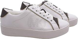 Michael Kors Sneakers Donna 43T0KBFS1L Kirby Op Wht Brown Pelle Bianca