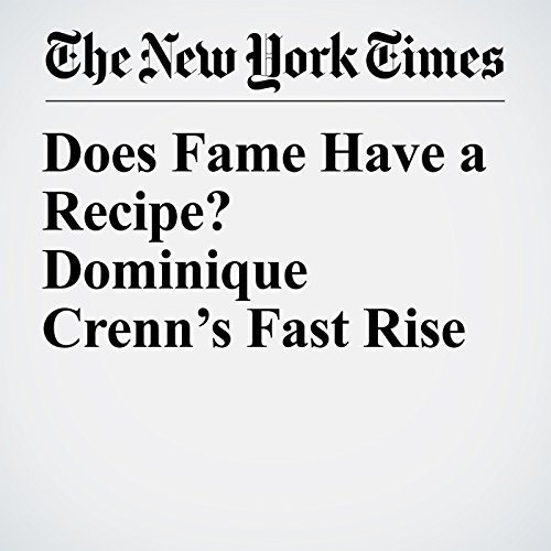 Does Fame Have a Recipe? Dominique Crenn's Fast Rise copertina