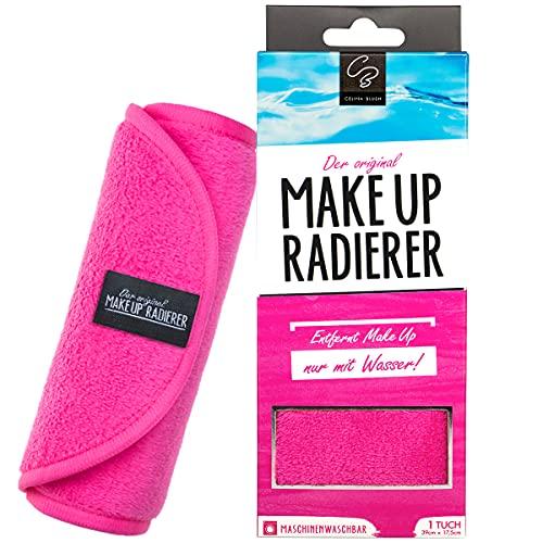La goma de borrar MakeUp original | Paño desmaquillante de microfibra (paño, 1 unidad, rosa)