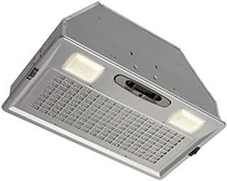 Broan Aluminum Power Pack Range Hood Insert, Exhaust Fan and Light Combo for Over Kitchen Stove, Silver, 6.0 Sones, 390 CFM