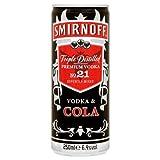Smirnoff & Cola Vodka Pre Mixed Cans (12 x