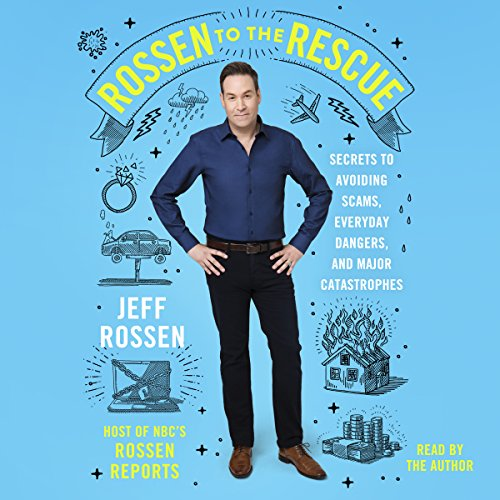 Rossen to the Rescue audiobook cover art