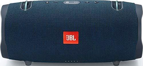 JBL Xtreme 2 - Altavoz BT portátil resistente al agua (IPX7) con manos libres y radiador de bajos JBL, JBL Connect+, batería 15h, azul