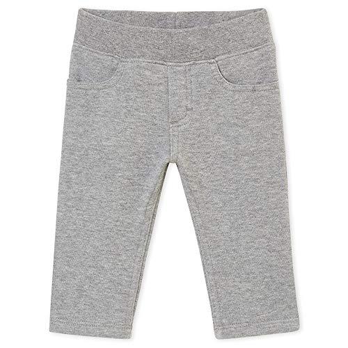 Petit Bateau SF Pantalons Maille Pantalones, Gris (Subway Chine 02), Talla de Fabricante :12 Meses Unisex bebé