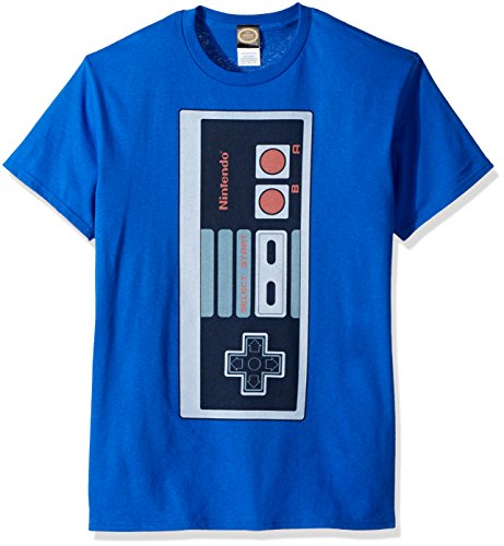 Nintendo Men's Big Controller T-Shirt,6 Colors, S to 5XL