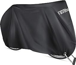 Favoto Fietshoes Outdoor Waterdichte Bicycle Cover Oxford Anti-UV Bestand Tegen Water, Stof, Regen, Wind, Met Slotgat, Opb...
