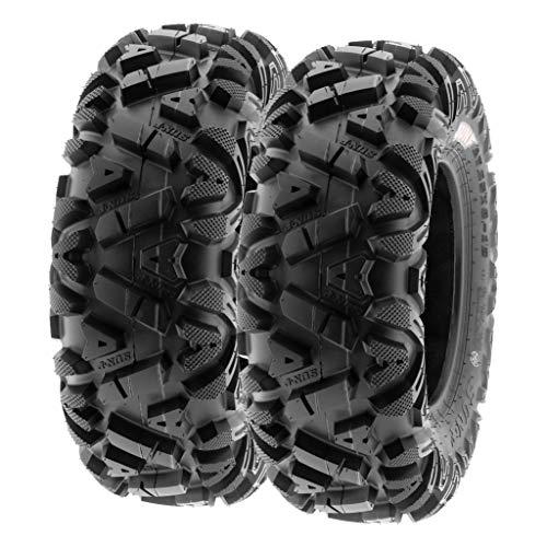 SunF 28x9-12 28x9x12 ATV UTV Tires 6 PR Tubeless A033 POWER I [Set of 2]