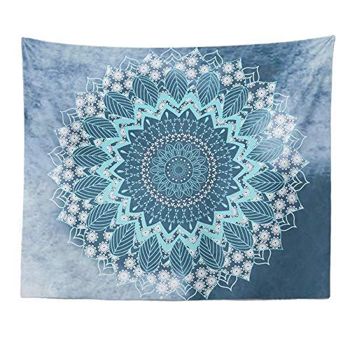 Tapiz Azul claro patrón patrón - Adornos de Arte para Pared de Hogar, Pareo/Toalla de Playa Grande, Chic Decoración Habitacion, Regalo Mujer 1 pieza 200×150cm