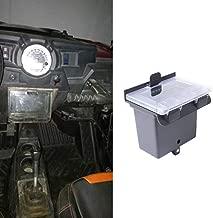 SOYAVISION Black Center Dash Storage Box RZR Center Compartment for Polaris RZR XP 1000 RZR XP 4 1000/PS RZR XP 1000 INTL 2014 2015