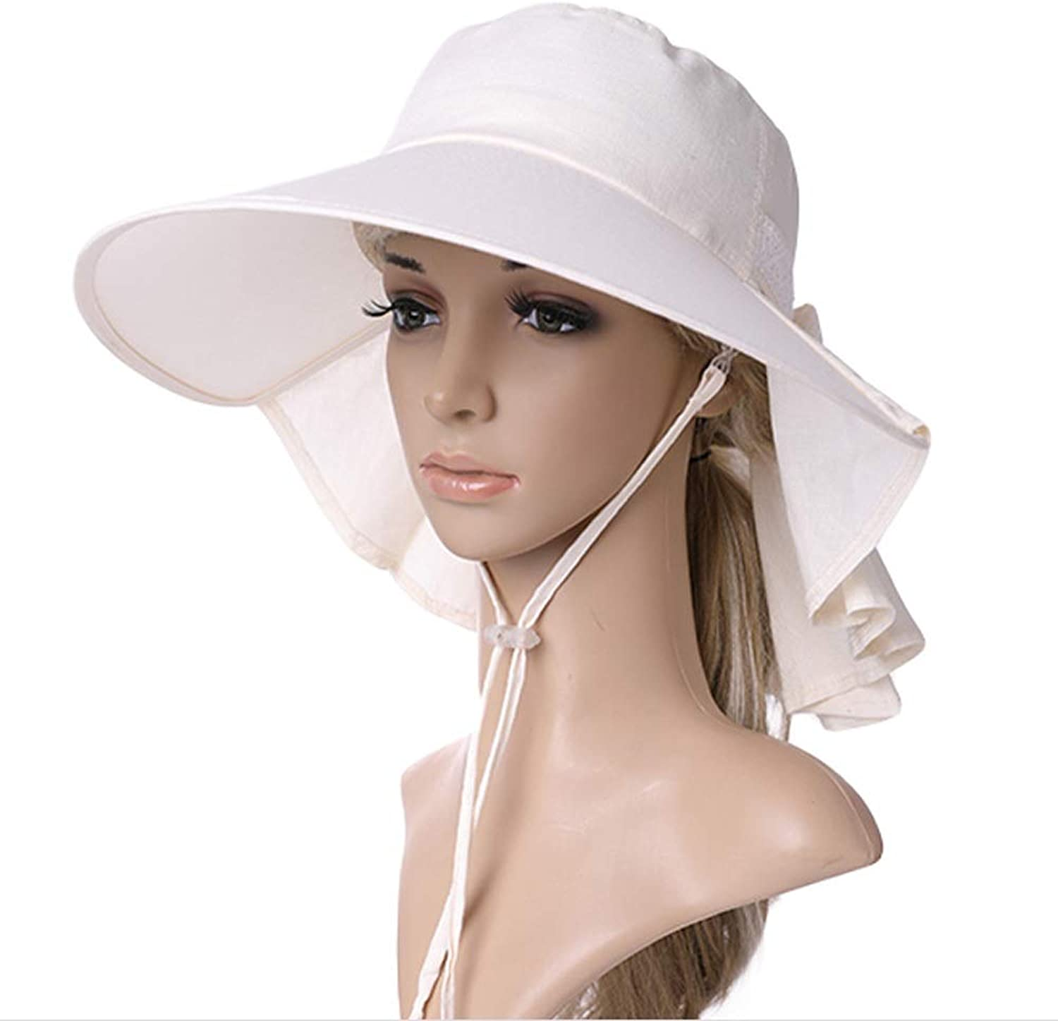 YD Hat  Women's Summer UV Predection Sun Hat Facial Neck Predection Sun Predection Cap Multifunction Outdoor Activity Sun Hat (3 colors)    (color    3)