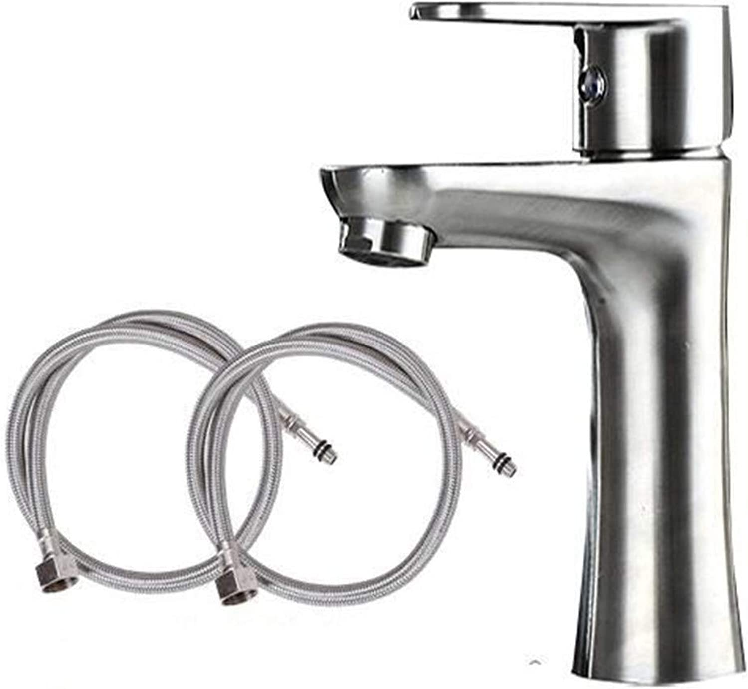LYBSD Bathroom Sink Taps Hot and cold water faucet basin bathroom bathroom kitchen XMY waist faucet piping