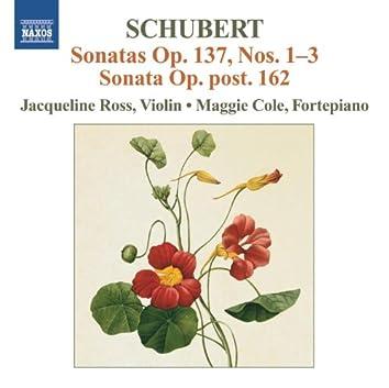 Schubert: Sonatas, Op. 137, Nos. 1-3 - Sonata Op. Post. 162