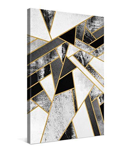 Gallery of Innovative Art Cuadro sobre Lienzo 40x60 cm Fragments Impresión En Lienzo Montado sobre Marco De Madera (2cm) - Disponible En Varios Tamaños - Fotomural por Elisabeth Fredriksson