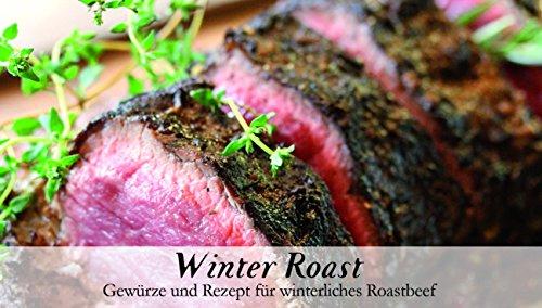 Winter Roast – 8 Gewürze für winterliches Roastbeef (42g) – in einem schönen Holzkästchen...