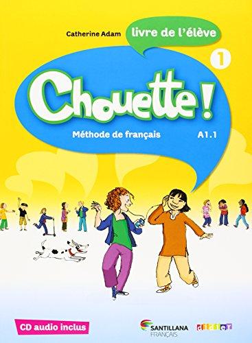 CHOUETTE 1 LIVRE ELEVE + CD - 9788492729890