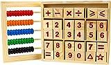 INTVN Coloridas Cuentas ábaco matemáticas Educativo de matemáticas con Counting número Bloques de Madera Juguetes para niños