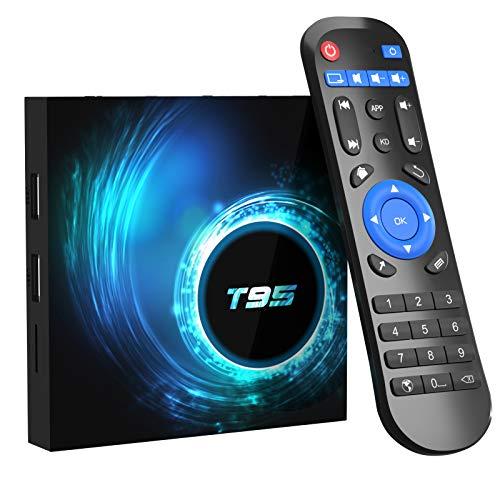 Box TV Android 10.0 TV Box 4 Go RAM 32 Go ROM Allwinner H616...