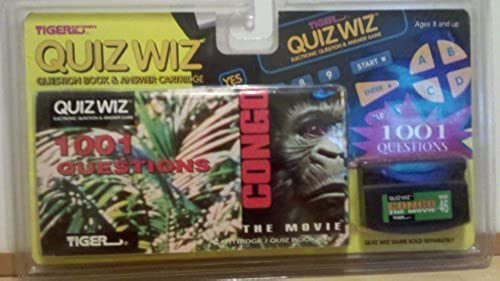 Quiz Wiz Congo the Movie by Tiger Electronics