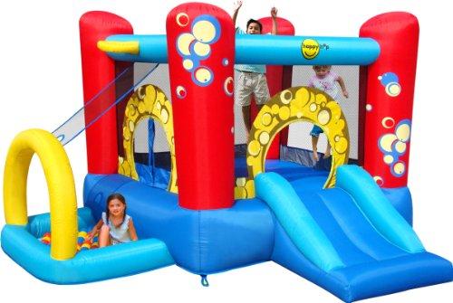 Happy Hop - Bj9214 - Toboggan - Bubble 4 In 1 Play Center