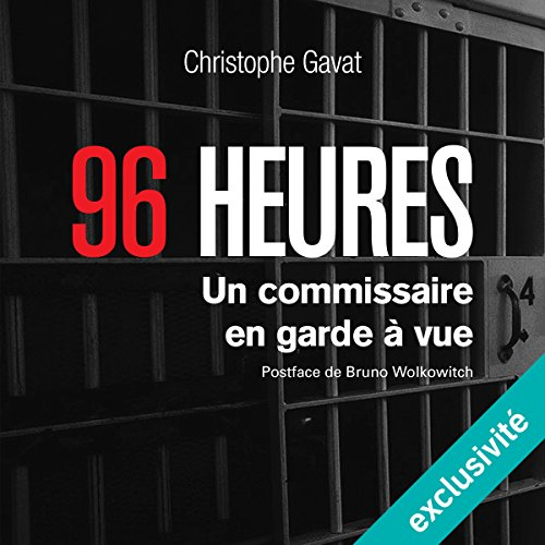 96 heures audiobook cover art