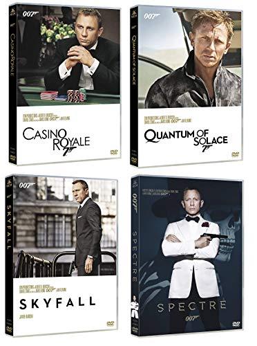 007 James Bond Daniel Craig Collection (4 film in DVD) Edizione Italiana