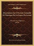 Dissertation Sur L'Histoire Naturelle Et Chimique De La Coqu: Menispermum Cocculus (1818)