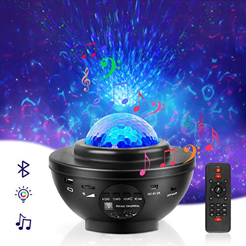 Light Projector Nebula Galaxy Projector for Bedroom Kowoma Led Laser Star Projector Night Light with...