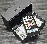 Original AppleiPhone Compatible Mobile Apple iPhone 5 16GB 32GB 64GB White Black (Black, 16GB)