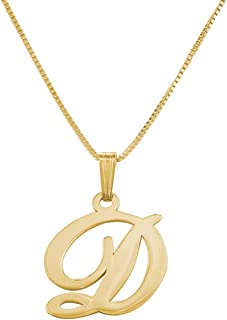 MyNameNecklace Personalized Initial Pendant Necklace Jewelry-Custom Letter Necklace