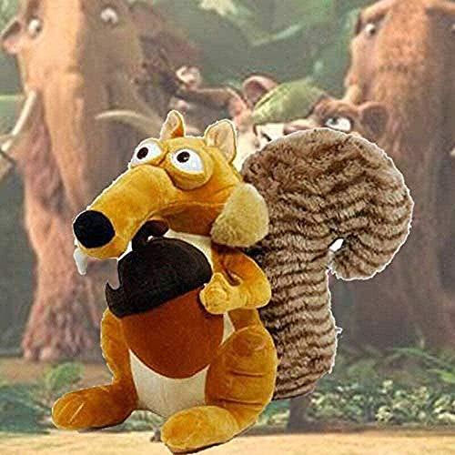 NC56 Stuffed Animal 18cm ice Age Female Squirrel Scrat Ellie Manny Sid Eddie Crash Scratte Stuffed Plush Toy Gift
