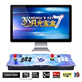 [LATEST & GREATEST 3D SYSTEM]: Our Pandora Key 7 Arcade Console Machine is built on the latest 3D system. Preloaded 2413 retro arcade gamesi160 in One 3D games included). Bring back your childhood memory with the fun of this classic arcade machines a...