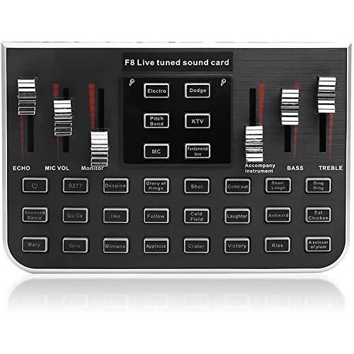 FanLe Tablero Mezclador de Sonido para transmisión en Vivo