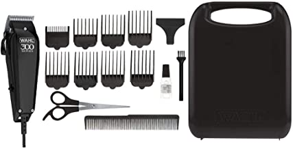 Wahl Pro 300 Series Hair Clipper Machine Kit, 15 Pieces