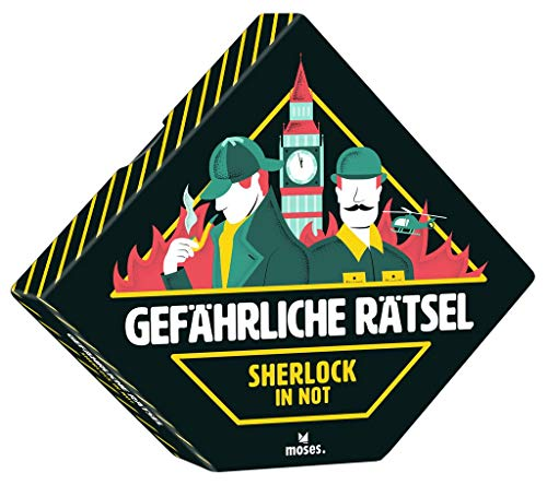 Gefährliche Rätsel Sherlock in Not | Spannende Logikrätsel in toller Geschenkbox | Ab 12 Jahren