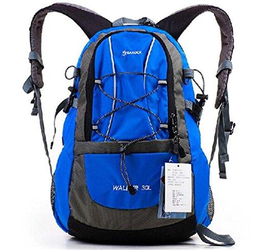 sac à dos randonnée 30L sacs de montagne en plein air voyagent sac hommes et les femmes voyagent sac à bandoulière de camping Sacs à dos de randonnée ( Couleur : Bleu , taille : 20-35L )