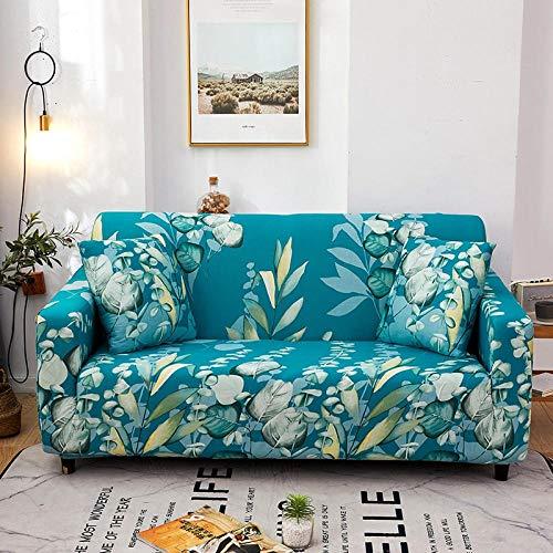 Fsogasilttlv Funda Elástica para Sofá Juego de Fundas de sofá de Esquina de Color sólido de 4 y 3 plazas para Sala de Estar, Fundas de sofá elásticas Forma de L, 235-300cm y 190-230cm(2pcs)